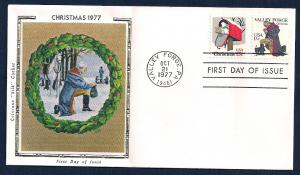 UNITED STATES FDC 13¢ Valley Forge COMBO 1977 Colorano