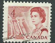 Canada SG 582 Fine  Used perf 12