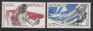 Monaco 1577-8 Sports mnh