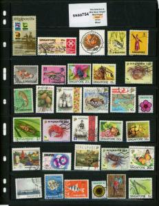 PKStamps - ssaa754 - Singapore - Mini Lot - Check Out Image
