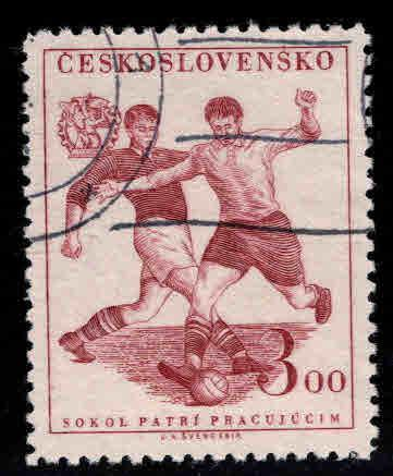 Czechoslovakia Scott 468 Used CTO 1951 stamp