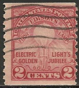 United States 1929 Scott# 656 Used