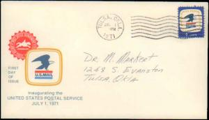 United States, Oklahoma, First Day Cover