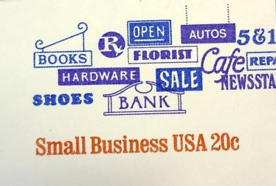 U606, 20c U.S. Postage Envelopes Small Business qty 3