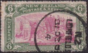 New Zealand 1906 SC 125 Used