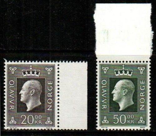 Norway Scott 542-3 Mint NH (Catalog Value $34.00)