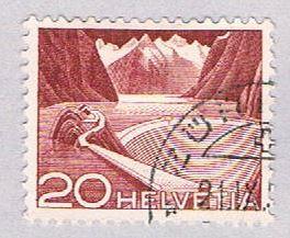 Switzerland 332 Used Dam 1949 (BP2612)