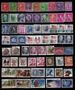 UNITED STATES NICE LOT OF 100 DIFFERENT SEE 2 SCANS