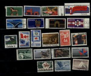 Canada  21 large different used   PD 1.60
