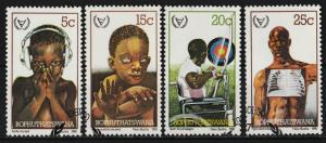Bophuthatswana 1981 International Year of the Disabled (4/4) USED