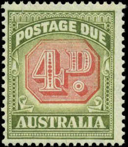 Australia Scott #J68 Mint Never Hinged