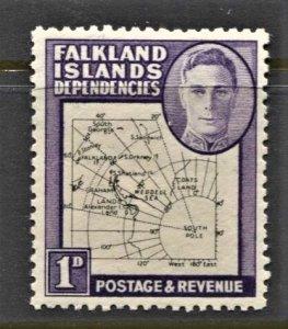 STAMP STATION PERTH -Falkland Is.Dep.#1L2 MNH OG VF Thin Maps CV$30 (Set CV$130)