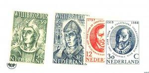 NETHERLANDS 212-3 370-1 MINT FVF OG NH Cat $19