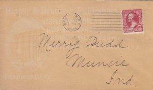 1894, Adv: Harper Publishing, New York, NY to Muncie, IN (39978)