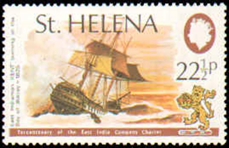 ST HELENA #279-282 MINT NEVER HINGED COMPLETE SET ( 4 ) SHIPS