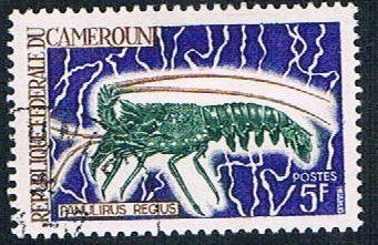 Cameroun 476 Used Spiny Lobster (BP647)