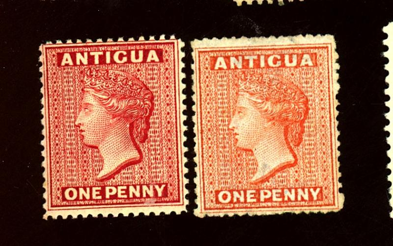 Antigua #3, 18 MINT F-VF #3 No gum 18 OG LH Cat $281