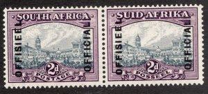 Sc# O41 - South Africa - Official 1945 - MNH - VF - superfleas - cv$11