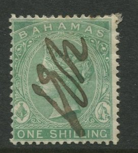 STAMP STATION PERTH Bahamas #19 QV Definitive Wmk.1 Perf.14  Used CV$15.00