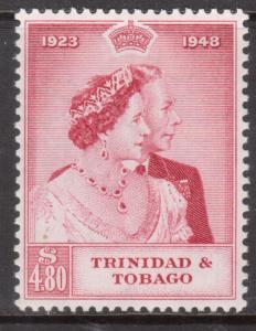 Trinidad & Tobago #65 Very Fine Mint Lightly Hinged