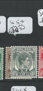 MALAYA BMA (P0210B) KGVI SG 5-6  MOG
