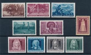 Liechtenstein 1941 Complete Year Set  MNH