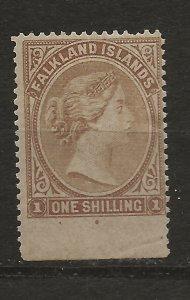Falkland Is 4 SG 4 MHR F/VF 1878 SCV $85.00 (jr)