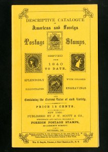 1868 America & Foreign Postage Stamps Descriptive Catalogue In Superb Condition