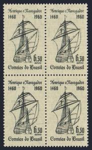 Brazil C102 block/4,MNH.Michel 987. Prince Henry the Navigator,500th birth Ann.
