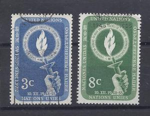 United Nations (New York), 39-40, Human Rights Singles,Used