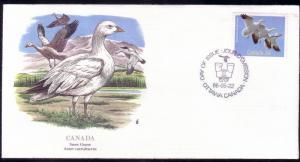 Canada FDC SC# 1095 Snow Goose L123