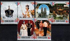 Cook  Islands #465-7  MNH   (X2529)