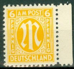 Germany - Allied Occupation - AMG - 3N5 MNH