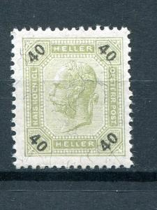 Austria #80  Mint NH XF