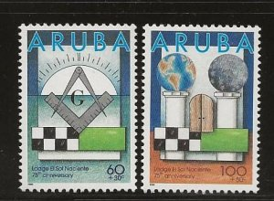 ARUBA  SC #  B43 - 4   MNH