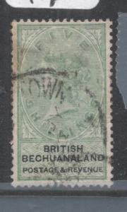 Bechuanaland SG 18 Stained At Top Right MOG (5dlc)