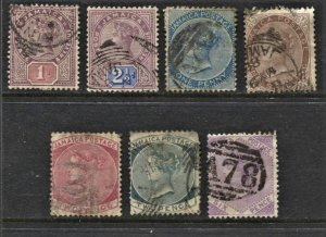 STAMP STATION PERTH Jamaica #7 QV Definitive Stamps Used - Unchecked