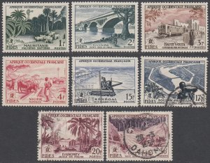 French West Africa 65-72 MH/Used CV $10.15
