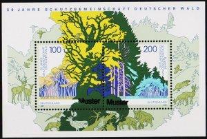 Germany. 1997 Miniature Sheet(Specimen) S.G.MS2771 Unmounted Mint