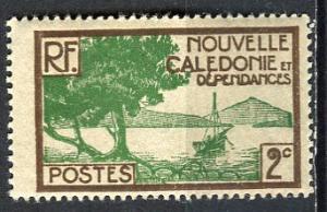 New Caledonia; 1928: Sc. # 137: */MH Single Stamp