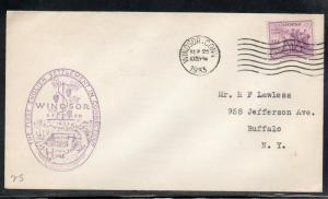 US Windsor CT Settlement Anniversary 1933 A307