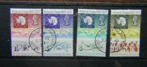 British Antarctic Territory 1971 Tenth Anniversary of Antarctic Territory set U