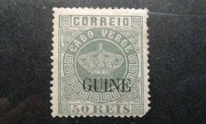 Portugal Guinea #17 mint hinged short corner e203 7742