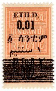 (I.B-CK) BOIC (Eritrea) Revenue : Duty Stamp 0.01 on 0.02 OP