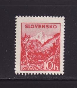 Slovakia 103 MHR Krivan Peak