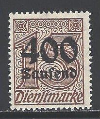 Germany Sc # O35 mint hinged (RRS)