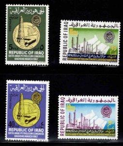 IRAQ Scott 427-430 MH* Oil Industry set