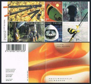 Finland 1115 booklet,MNH. Finnish Commercial product design,1999.