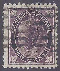 Canada scott #73 Used