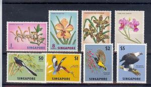 Singapore, 62-69, Various Designs Singles, **MNH**